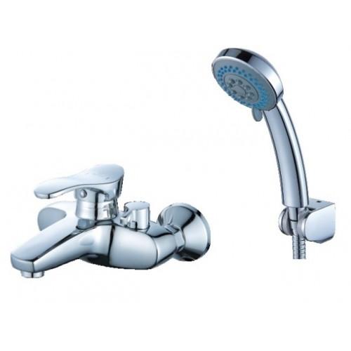 Смеситель для ванны DIADONNA  короткий L- излив, монолит, плав.ручка  80330100 ...