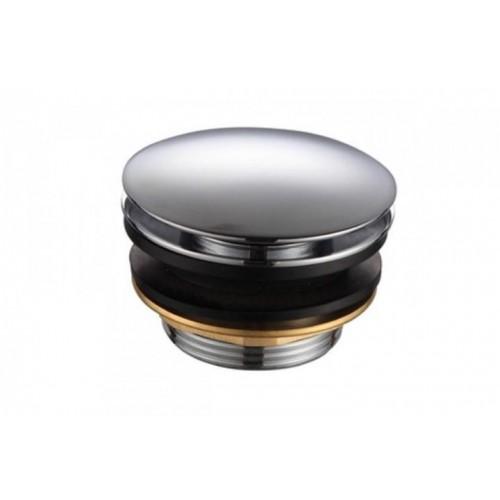 Клапан донный нажимной короткий, хром P004...