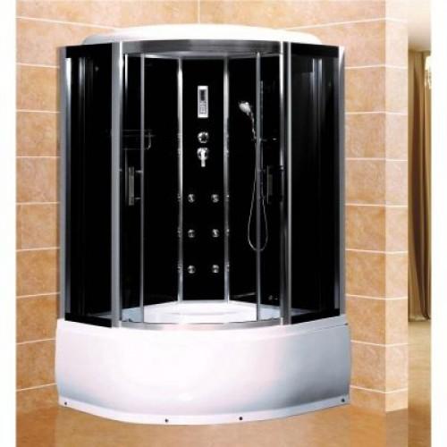 Душевая кабина ZILIDO ZS -1231 ПЕРСЕЙ В/П 800*800*2200 мм 1/4 Тропический душ, ручной душ, гидромассажные форсунки, усил...