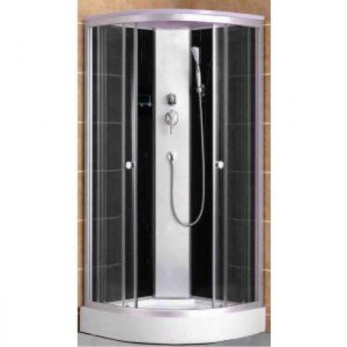 Душевая кабина ZILI DO ZS -1231 ПЕРСЕЙ В/П 800*800*2200 мм 1/4 Тропический душ, ручной душ, гидромассажные форсунки, уси...