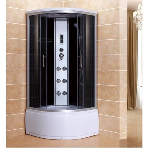 Душевая кабина ZILIDO ZS -1218 ДИОНИС В/П 900*900*2200 мм 1/4.Тропический душ, ручной душ, электронная панель управления...