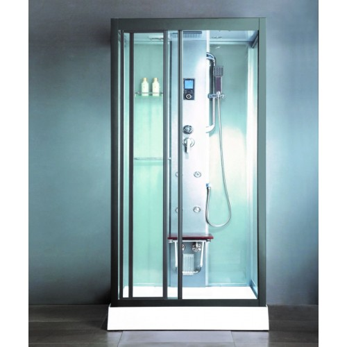 Душевая кабина ZILIDO ZS -1030 APEC  900*900*2150 мм 1/4/. Тропический душ, ручной душ, электронная панель управления, г...