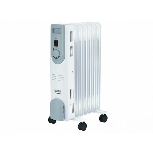 """Радиатор масляный """"Оазис"""" с функцией тепловентилятора BB-20T 9 секций 2000Вт+400вт..."""