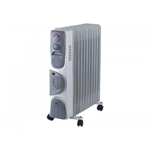 """Радиатор масляный """"Оазис"""" с функцией тепловентилятора BB-25T 11 секций 2500Вт+400вт..."""