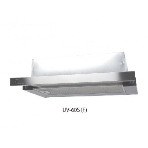Вытяжка кухонная встр. OASIS UV-60S (600мм, 500м3/...