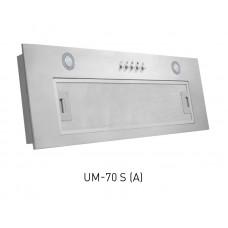 Вытяжка кухонная встр. OASIS UM-70S (700мм, 1000м3...