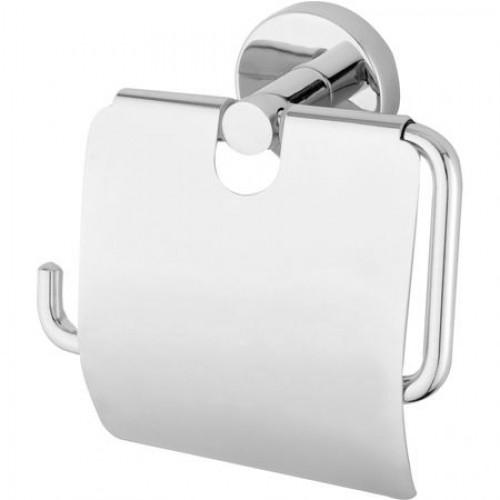 Держатель туалетной.бумаги с крышкой  Хром А1603 ...