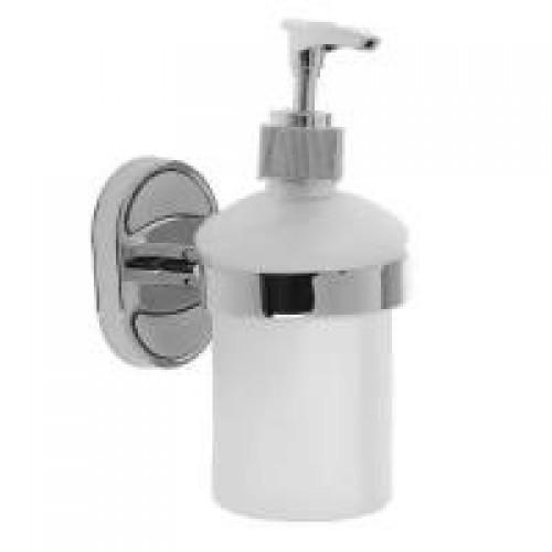 Дозатор для жидк. мыла настенный, матовое стекло А1627 ...