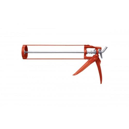 Пистолет для герметика скелетный  с мет. фикс. 225мм ON 21-02-003...