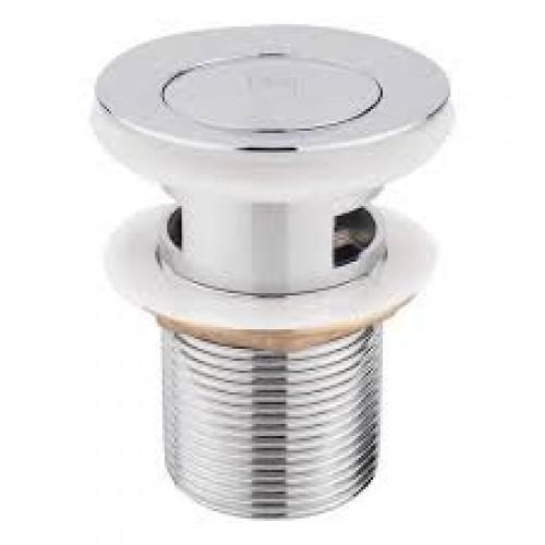 Клапан донный нажимной, с переливом хром P62-1 /уп.10шт/...