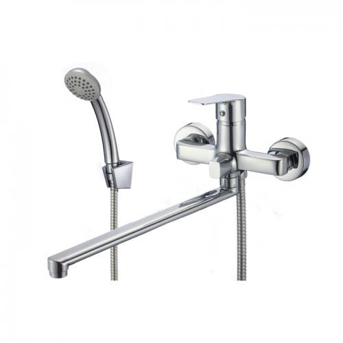 Смеситель для ванны с длинным изливом, Helic, Milardo, HELSB02M10...