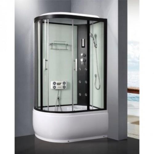 Душевая кабина ZILI DO ZS-1205-R АИД В/П 1200*800*2200мм 1/4 Тропический душ, ручной душ, электронная панель управления,...
