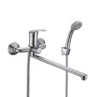 Смеситель для ванны MILARDO SIMP с длинным изливом...