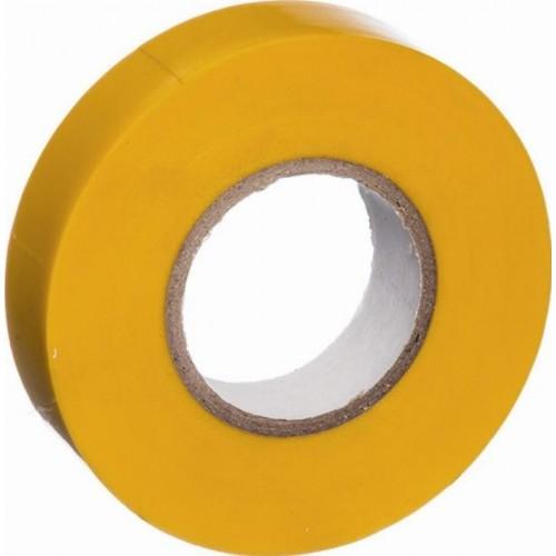 Изолента ПВХ 19мм*20м желтая Klebebander...