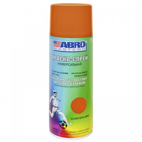 Краска-спрей оранжевая ABRO Masters SP-065-AM...